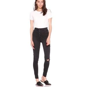 Old navy super skinny high rise jeans - 4